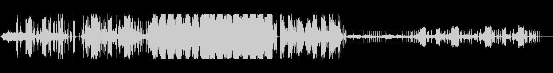 不思議さと温かみのあるスローエレクトロの未再生の波形