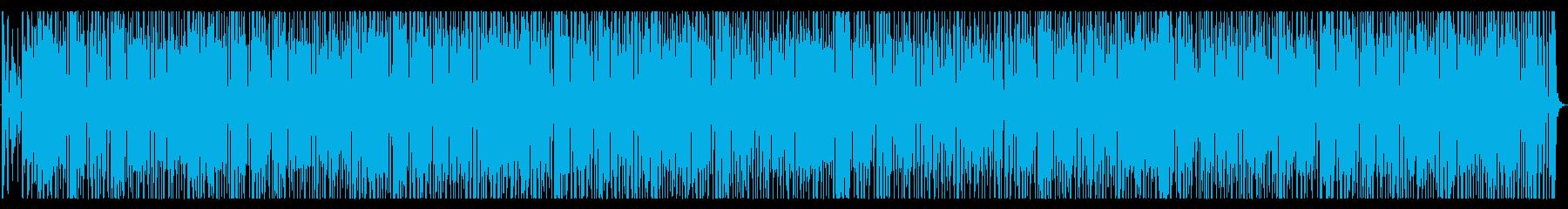 CM企業VP、ポップバンドお洒落で可愛いの再生済みの波形