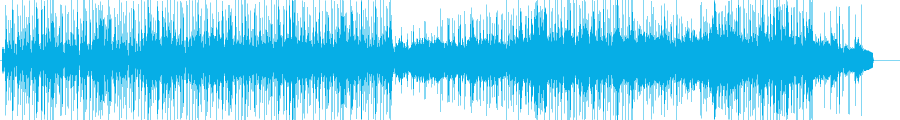劇伴 緊迫感のあるミニマルギターロックの再生済みの波形