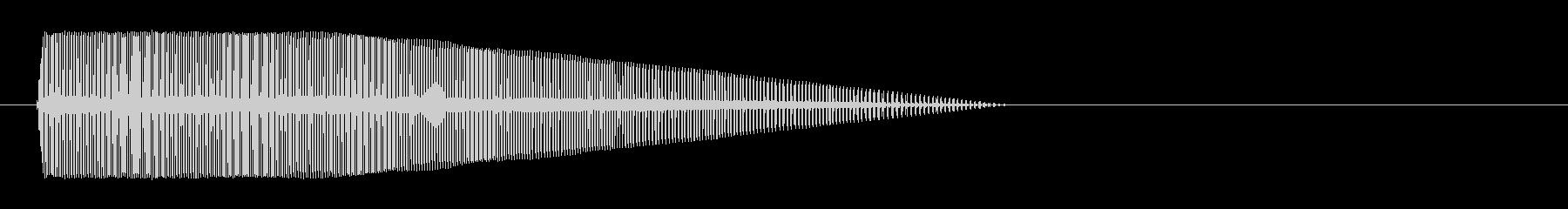 8bitのボヨヨヨヨ↓の未再生の波形