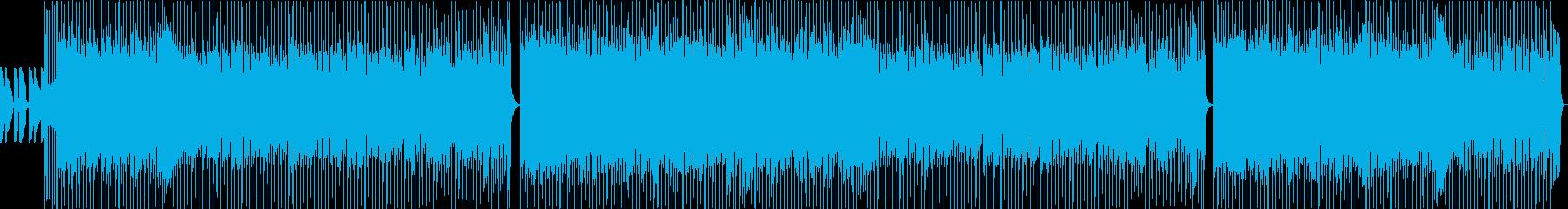 さわやかなポップスロックの再生済みの波形