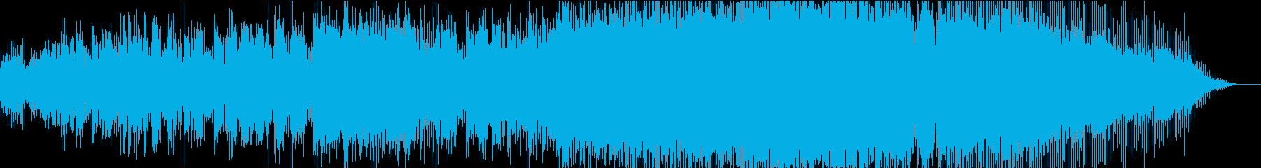 五輪CM・会社紹介に☆歓声が1つになる曲の再生済みの波形