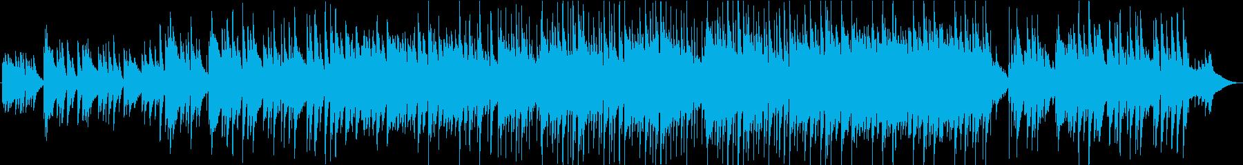 夏の終わりをイメージしたピアノ曲の再生済みの波形
