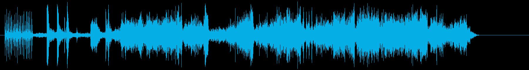 近代的なトラム2徒歩の再生済みの波形