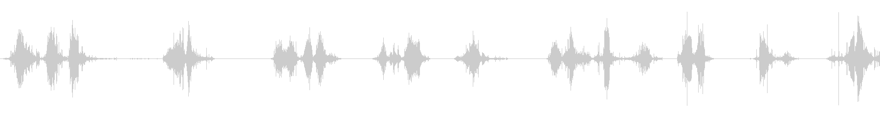ダートブーツ:さまざまなシャッフル...の未再生の波形
