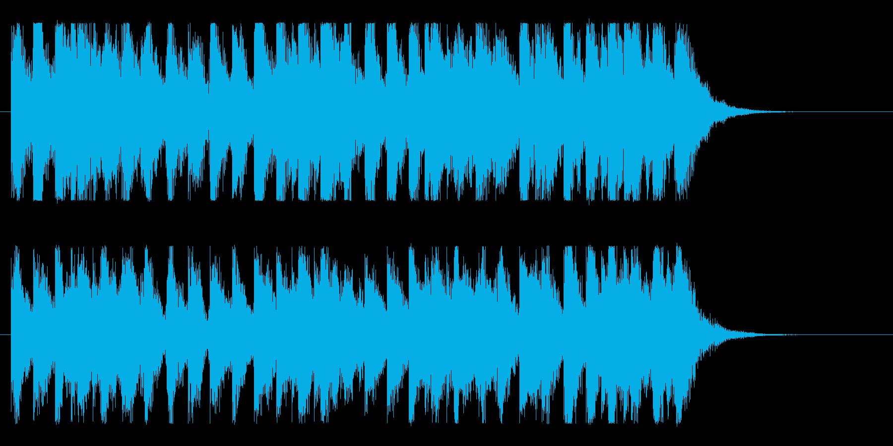 ハッピー&ポップ!楽しいオーケストラ♪の再生済みの波形