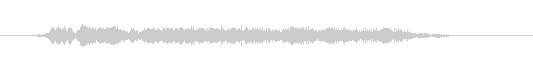 メタル 鳴き声01の未再生の波形