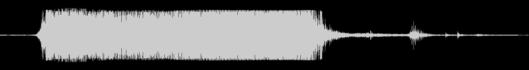 ギターメタルパワー和音dの未再生の波形