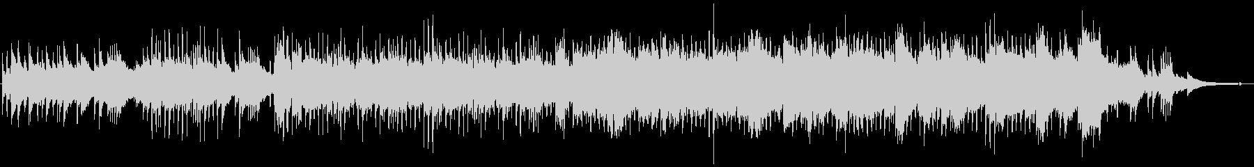 和風BGMの琴や尺八が奏でるメロディの未再生の波形