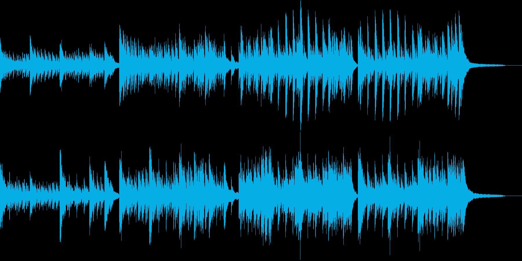 ピアノをメインにしたプロローグの再生済みの波形