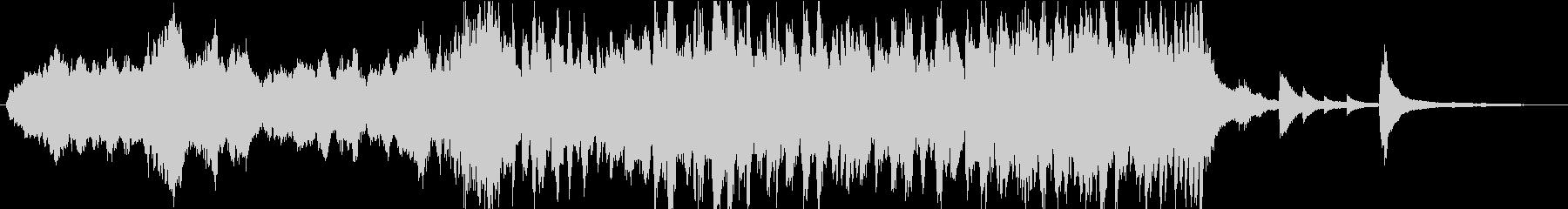 感動 泣ける追憶を感じるピアノ(短縮版)の未再生の波形