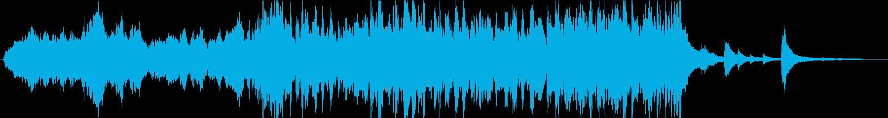 感動 泣ける追憶を感じるピアノ(短縮版)の再生済みの波形