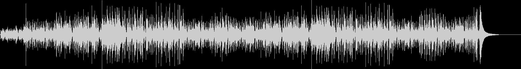 伝統的 ジャズ ビバップ ほのぼの...の未再生の波形