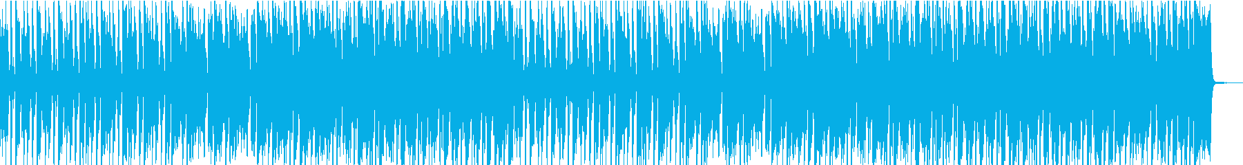 コミカルでゆるい雰囲気の軽快ビッグバンドの再生済みの波形