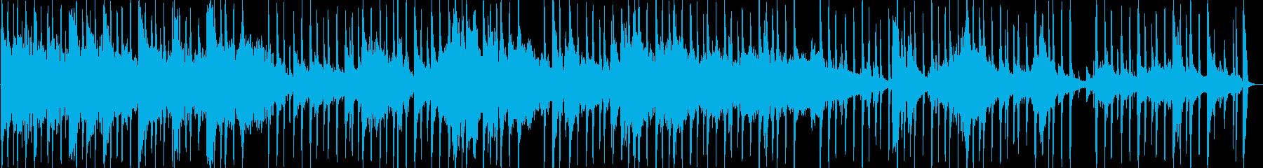 アンビエントミュージック 淡々 不...の再生済みの波形