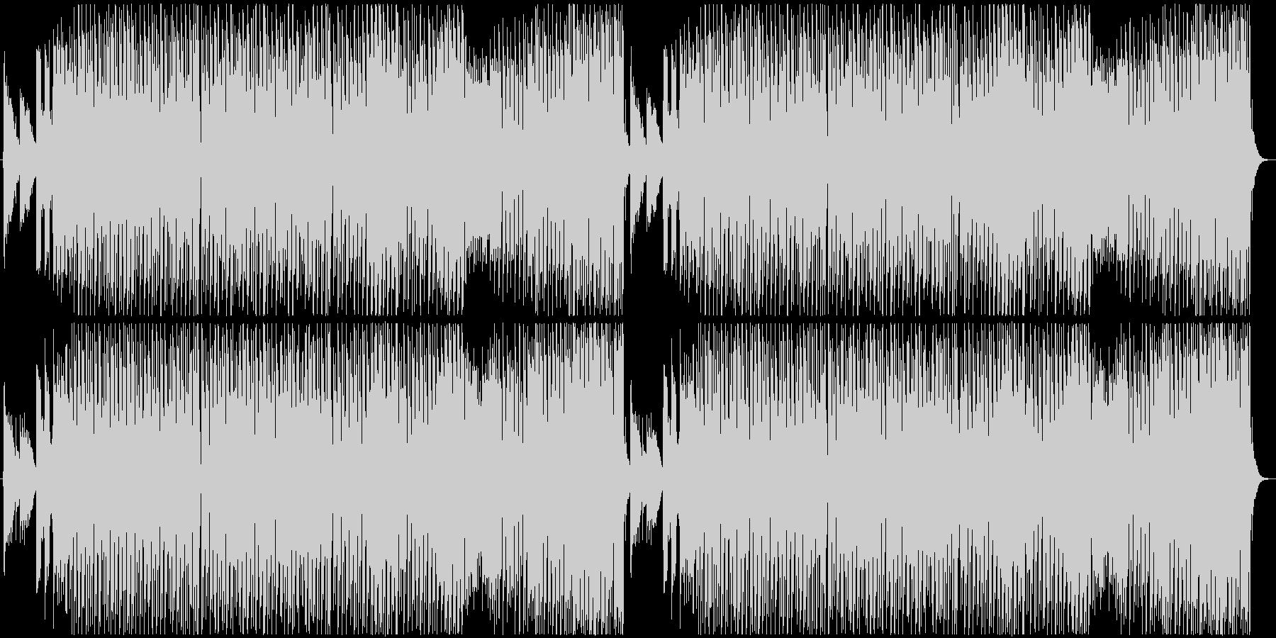 ポップなハロウィン曲の未再生の波形