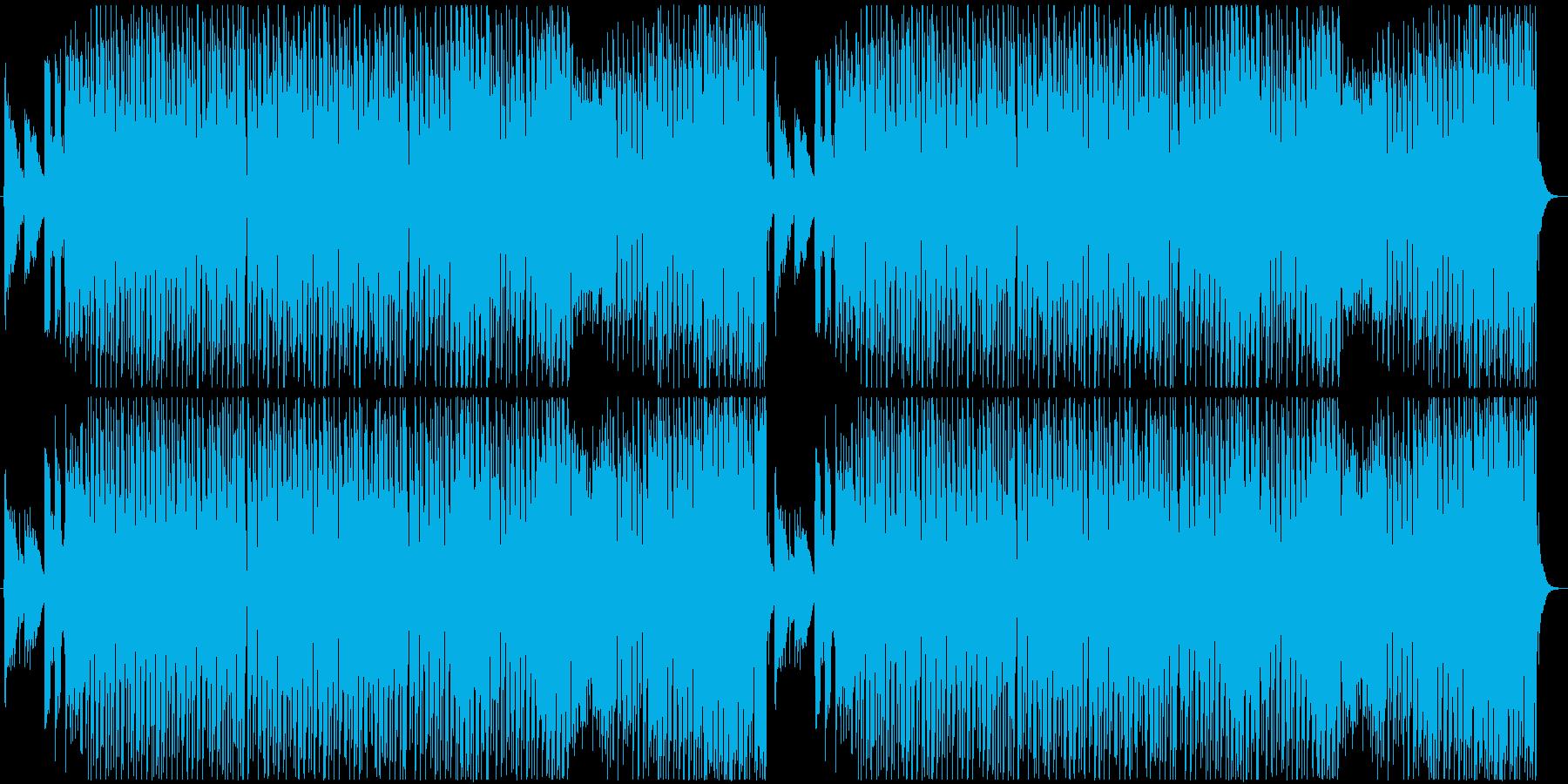 ポップなハロウィン曲の再生済みの波形