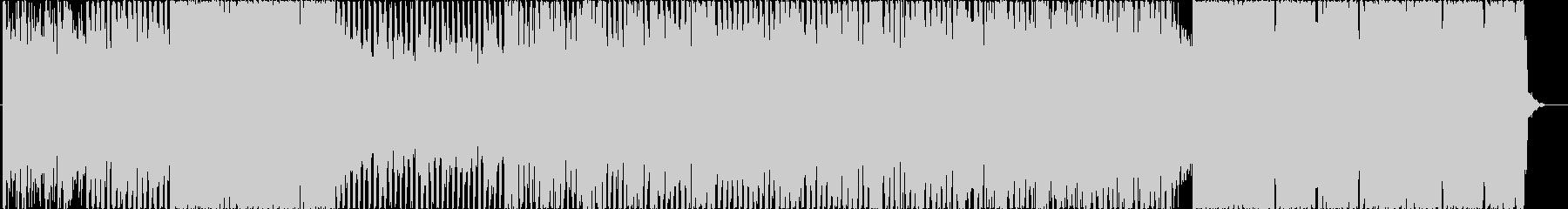 パズル・シューティングゲームBGMの未再生の波形