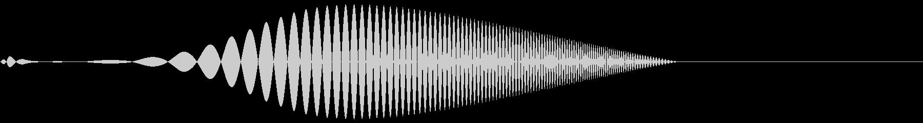 Tool プレゼン映像向け動作SE 2の未再生の波形