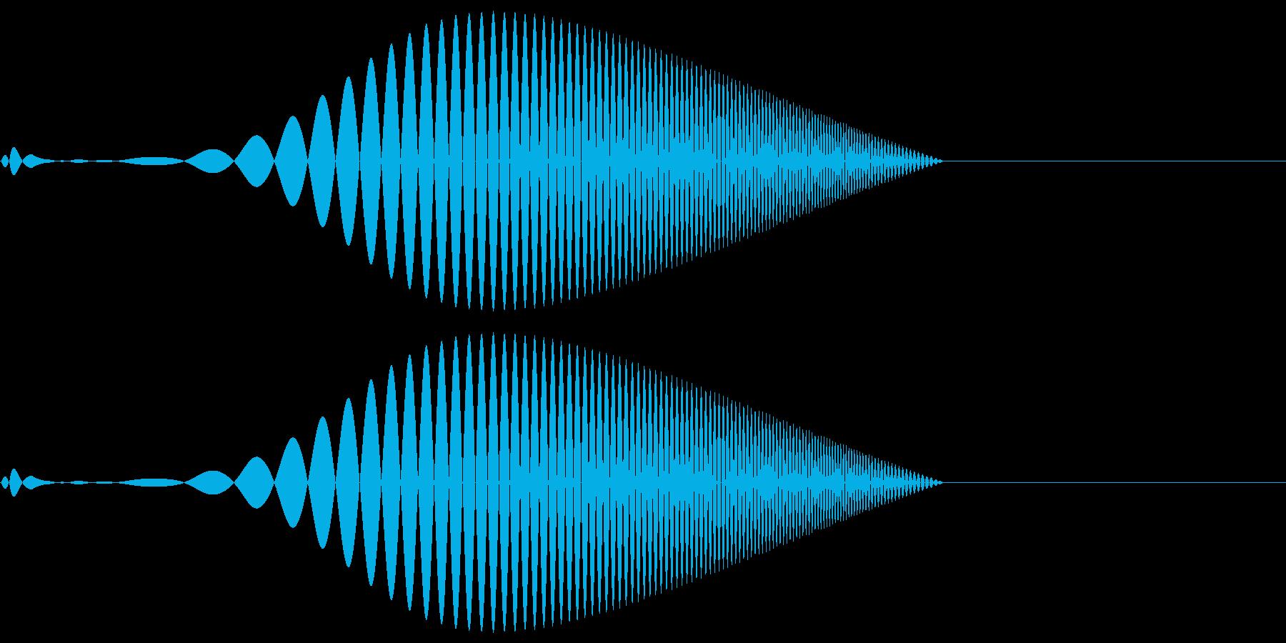 Tool プレゼン映像向け動作SE 2の再生済みの波形