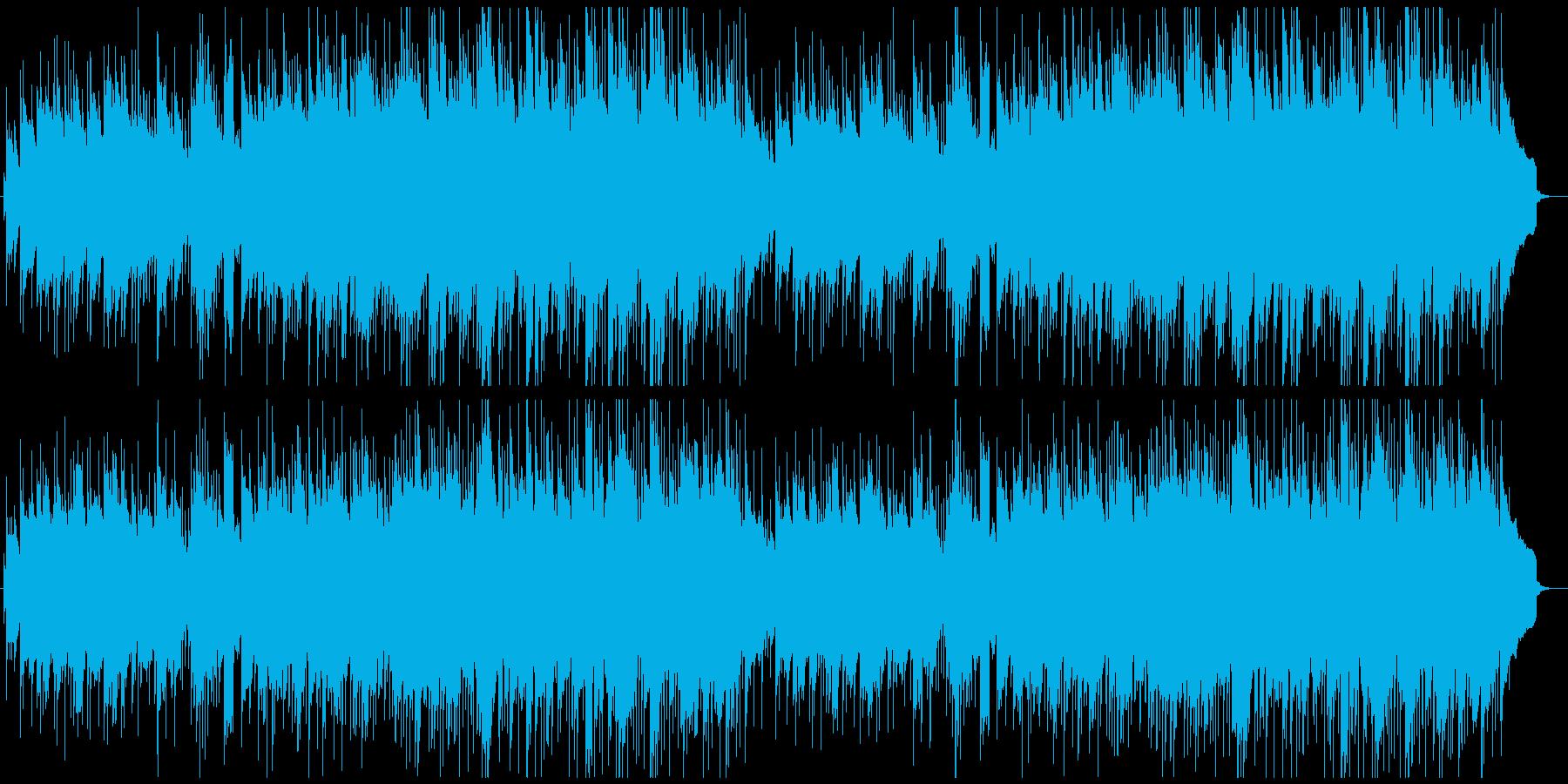 やさしい曲 軽快 テンポ109の再生済みの波形