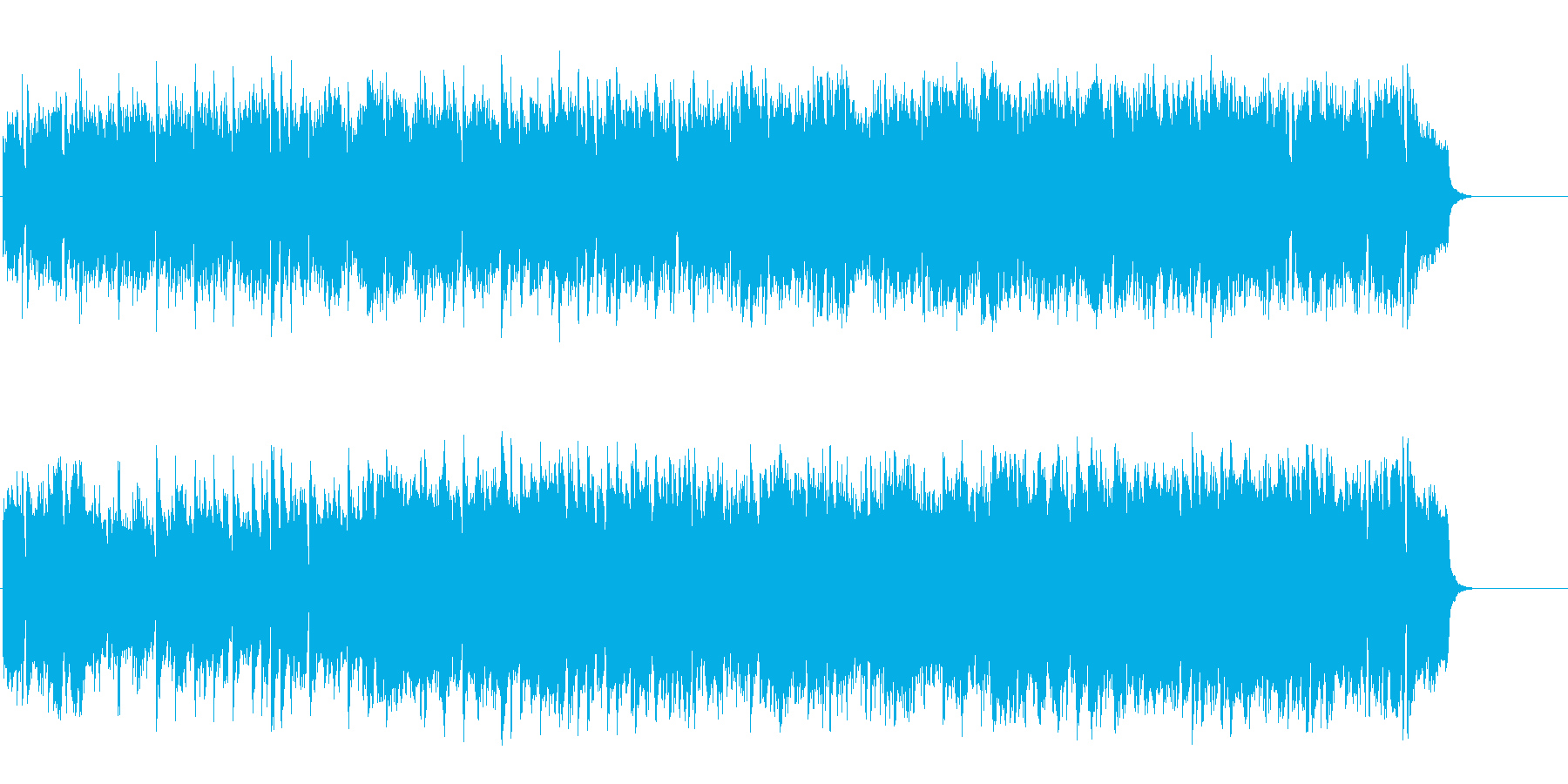 のどかで牧歌的なポップ・フォークの再生済みの波形