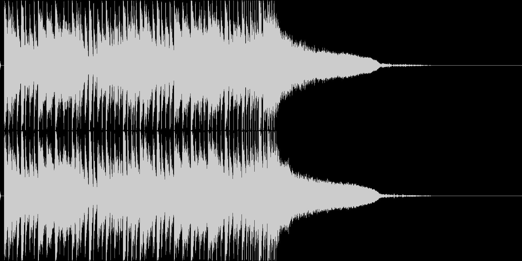 メロディアスなダブステップ ジングルの未再生の波形