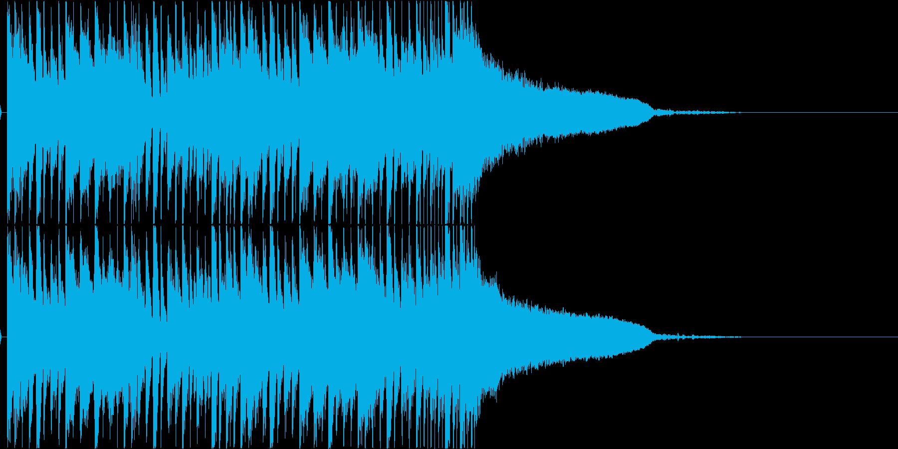 メロディアスなダブステップ ジングルの再生済みの波形