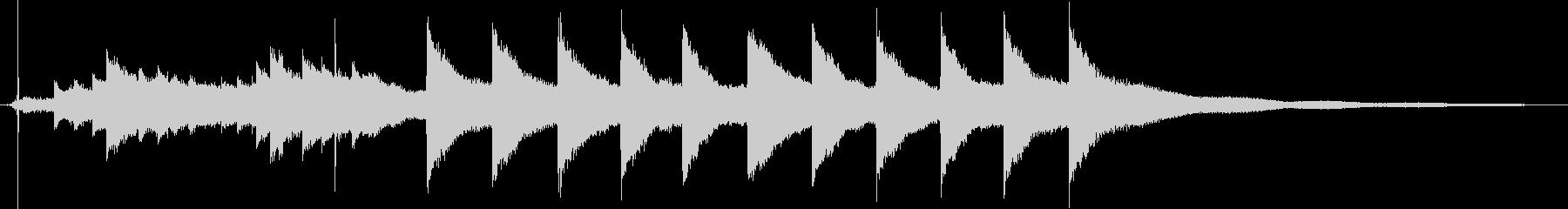 マントルチャイムクロック:小:スト...の未再生の波形
