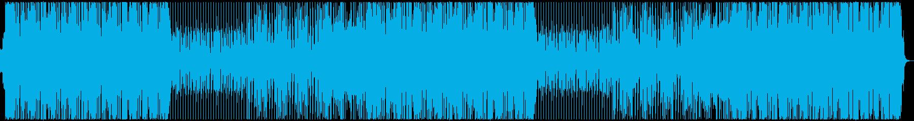カジノ風ゴージャスなブラスファンクポップの再生済みの波形