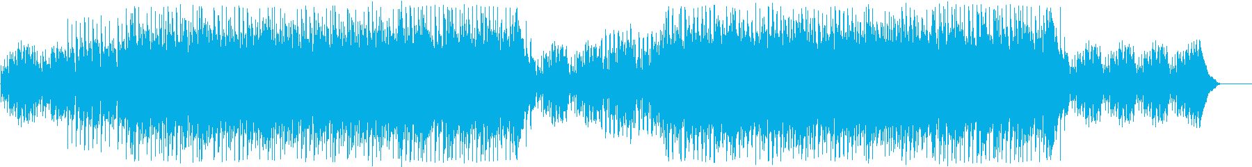 ドライブに合うアコースティックなBGMの再生済みの波形