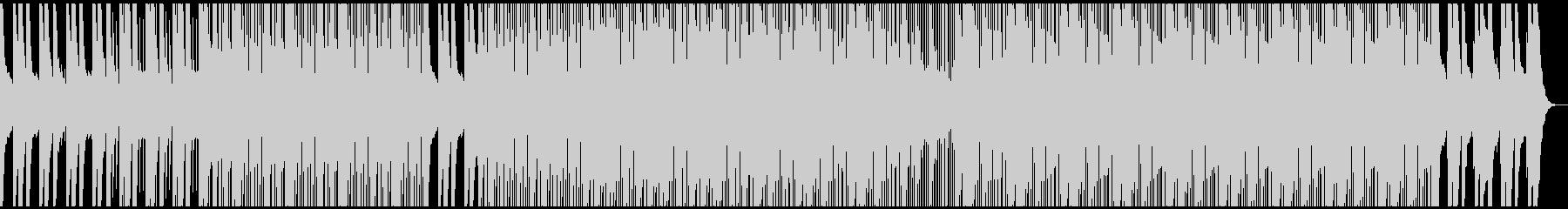 ピアノが爽やか 少し影のあるハウスBGMの未再生の波形