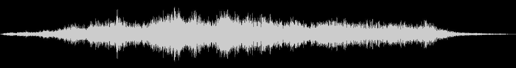 ヘビーメタルプレートランブルの未再生の波形