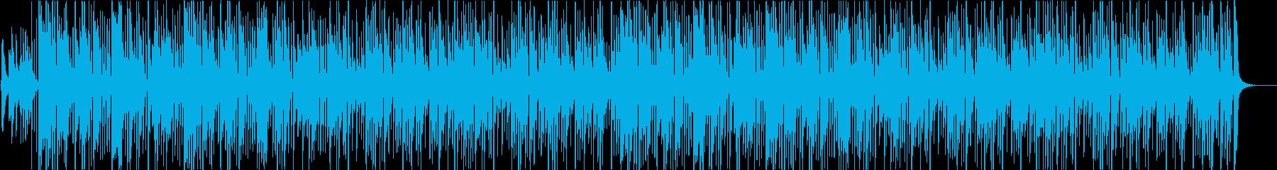お琴の音色が可愛いほのぼのお正月の再生済みの波形