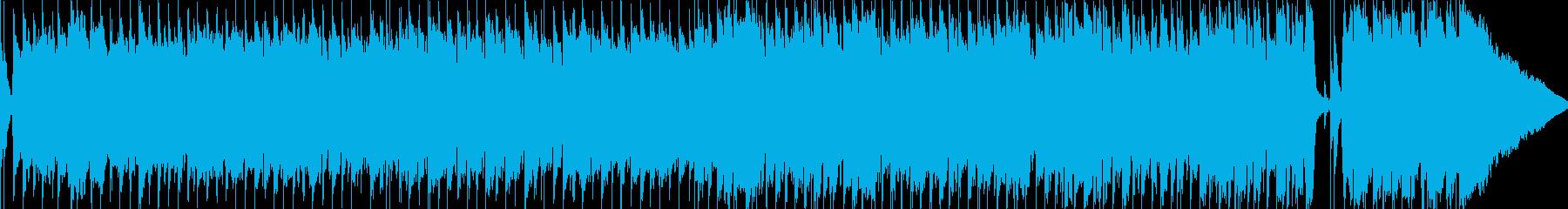 明るく楽しいカントリーミュージックの再生済みの波形