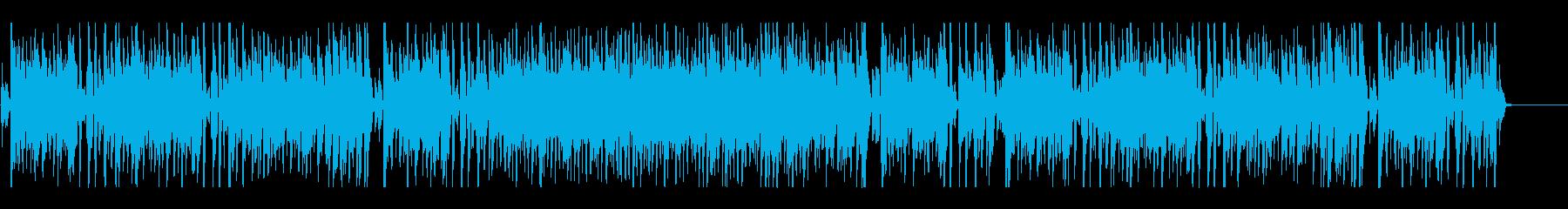 サックスの生演奏でジャズ!の再生済みの波形