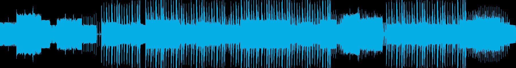 クレイジー。パルス、テンションビル...の再生済みの波形