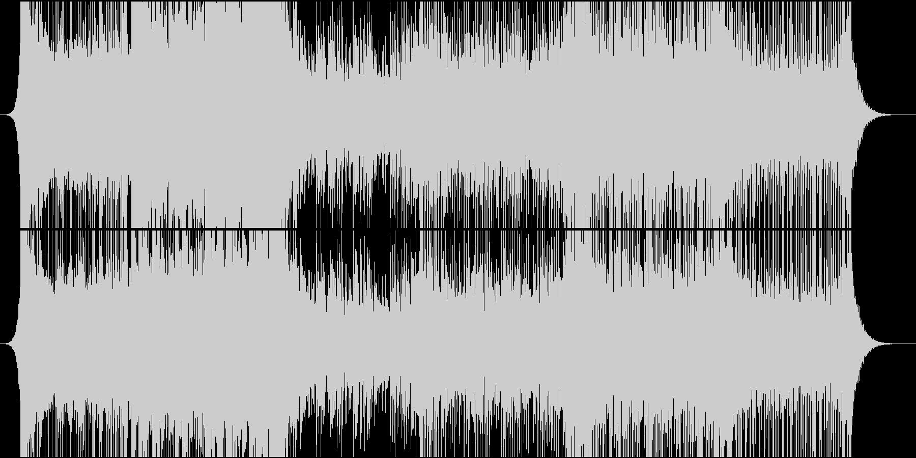 ライブ向きメジャー系オーバーチュアの未再生の波形