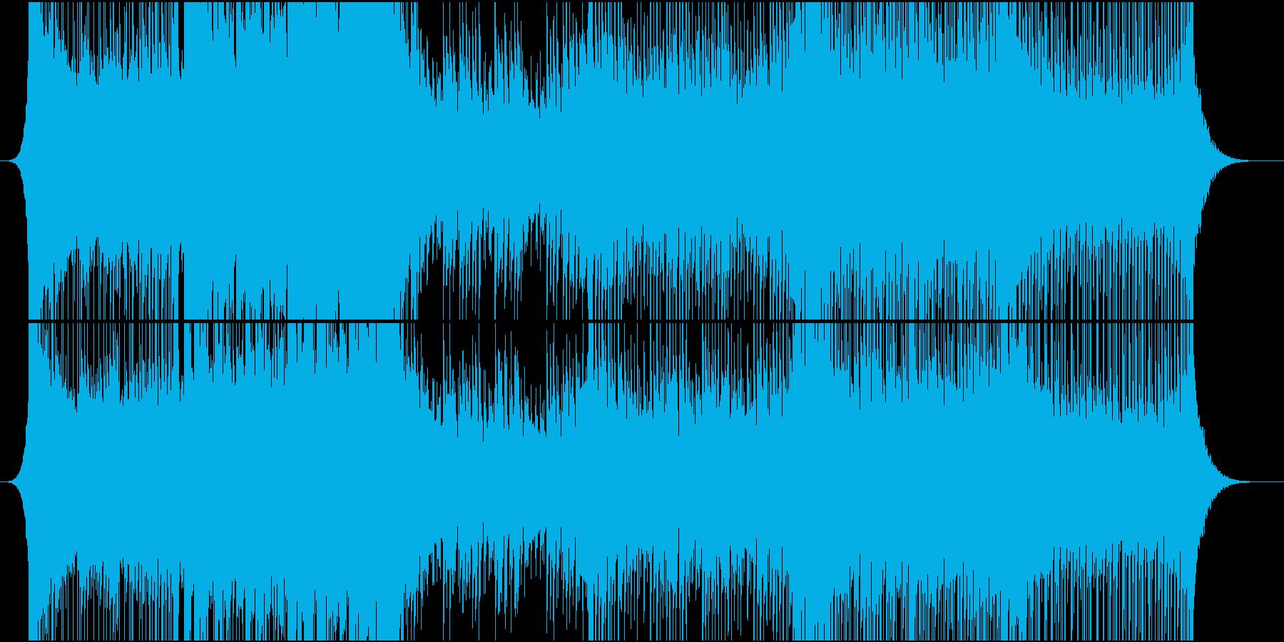 ライブ向きメジャー系オーバーチュアの再生済みの波形