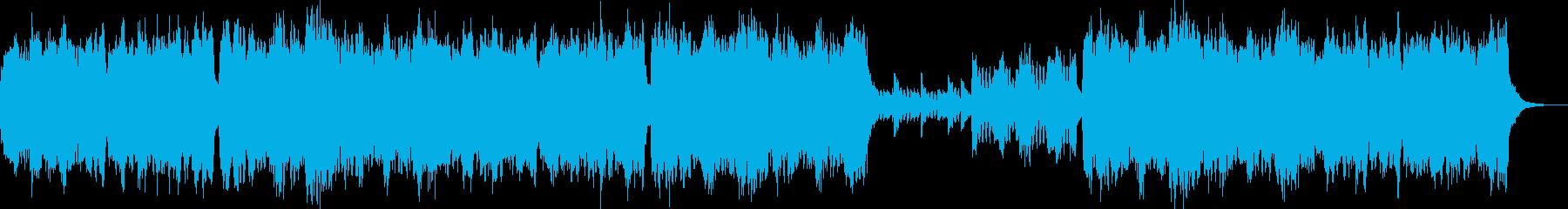 クラシック調の優雅なBGMです。の再生済みの波形