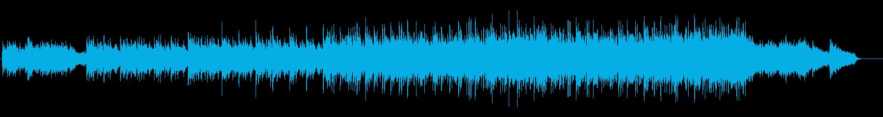 優しいメロディのエチュード風バラードの再生済みの波形