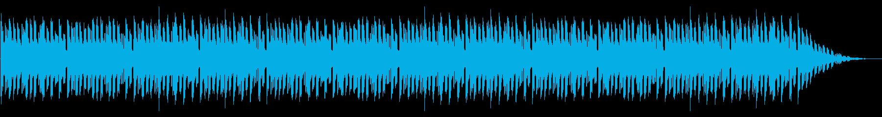 GB風RPGのOP曲の再生済みの波形