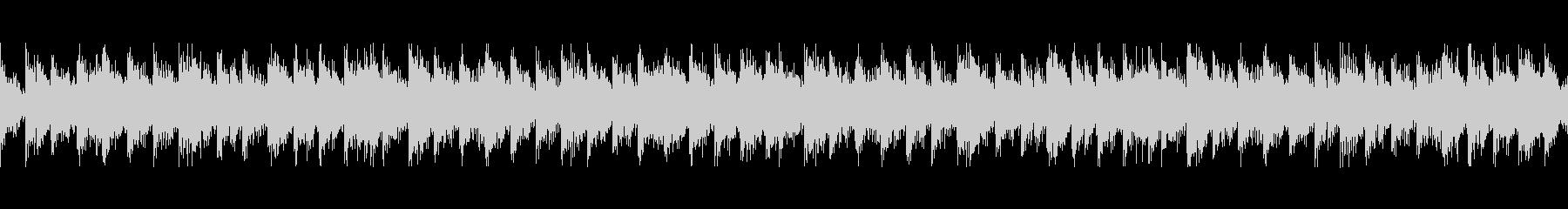 パーカッション民族楽器風・変拍子・ループの未再生の波形