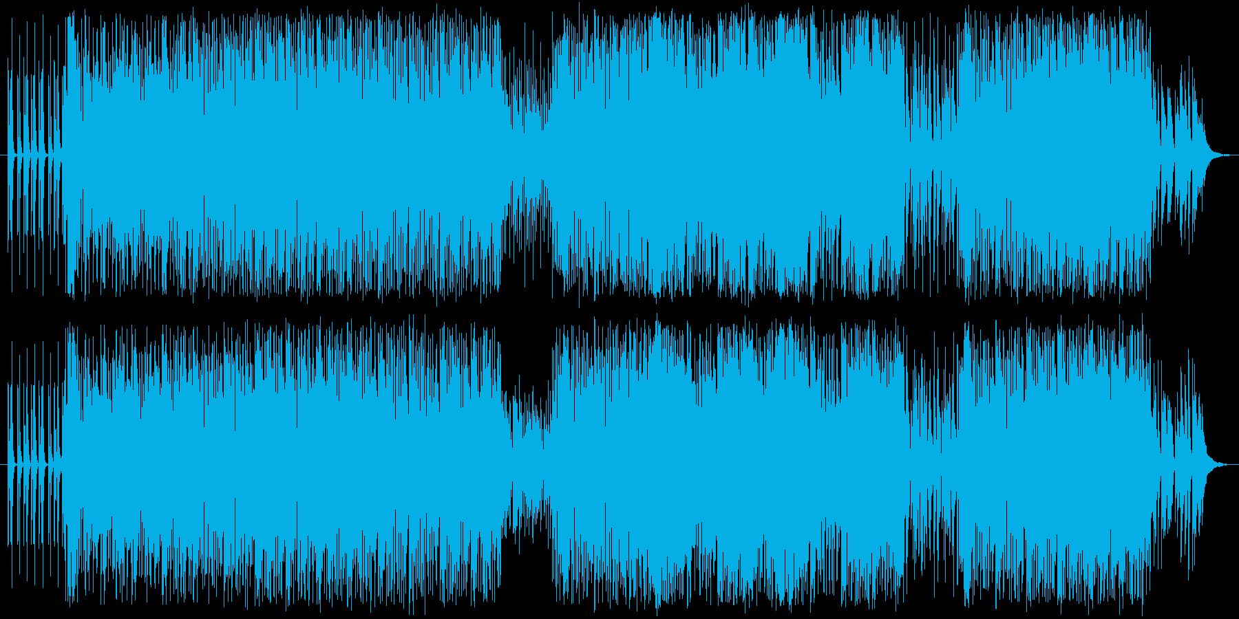 パズルゲームのような、ノリがよく可愛ら…の再生済みの波形