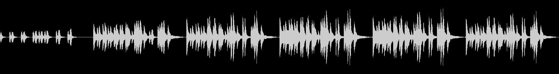 日常系BGM 子供・ほのぼの・のほほ〜んの未再生の波形