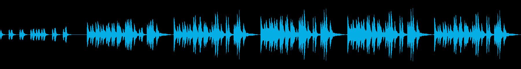 日常系BGM 子供・ほのぼの・のほほ〜んの再生済みの波形