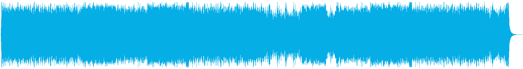 Hollywood-style orchestra directing a battle's reproduced waveform