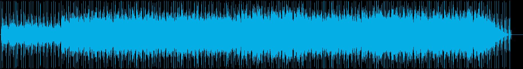 やわらかな雰囲気のブルージーなチルアウトの再生済みの波形