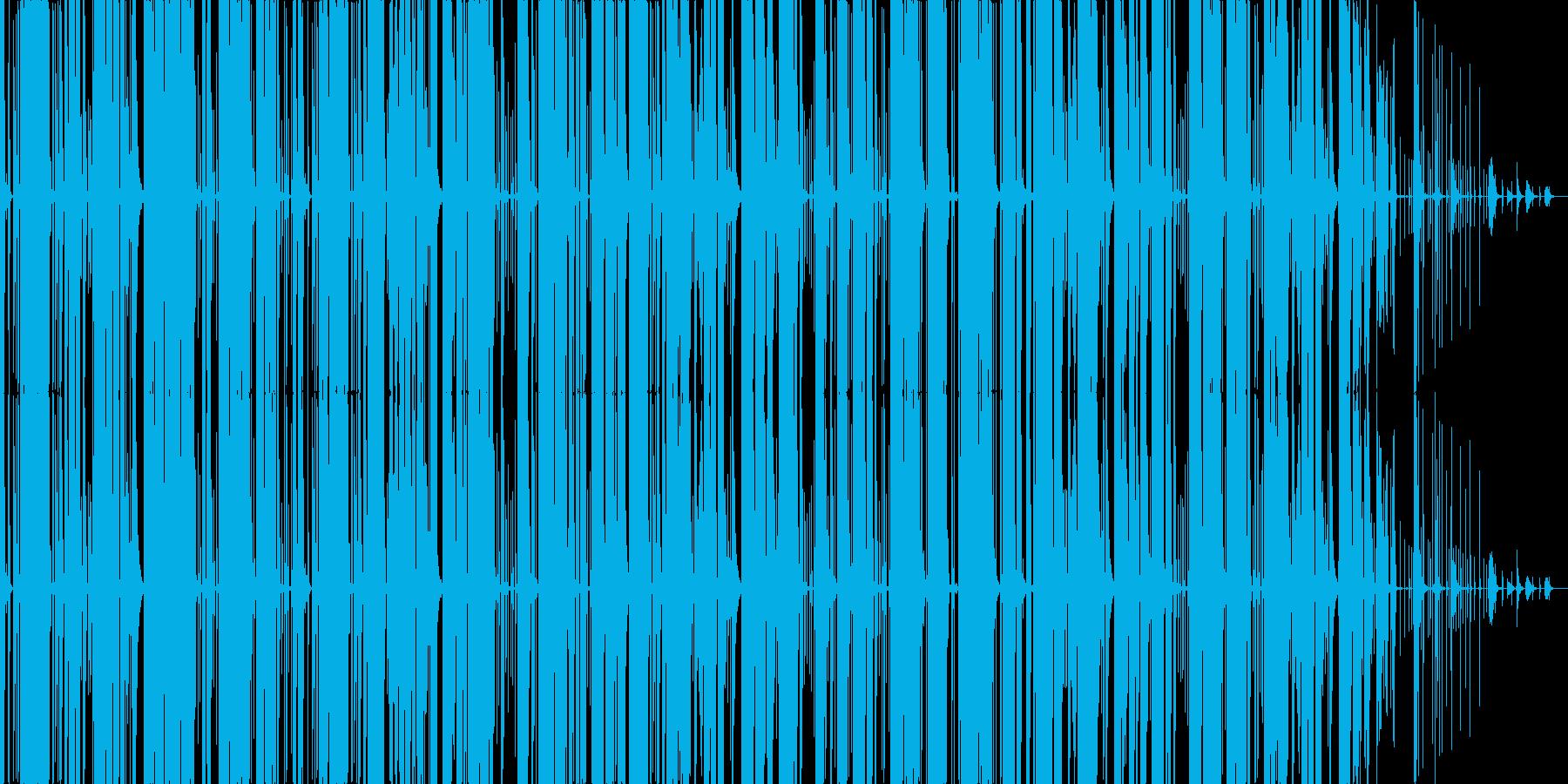 かっこいいマシンビートの再生済みの波形