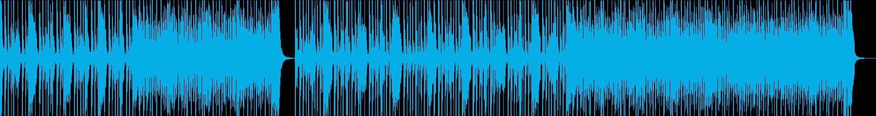 コミカルで楽しいポップなナンバーの再生済みの波形